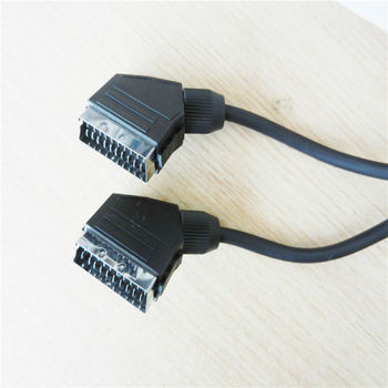 20 Pin Scat Cable Male To Male For Rohs Dvd Player Xbox,Home Theater ...