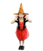 Children Clothes Halloween Party Dress Up Girl Vampire Costume