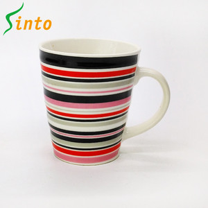 Promotional cheap price porcelain bulk coffee unglazed ceramic mug
