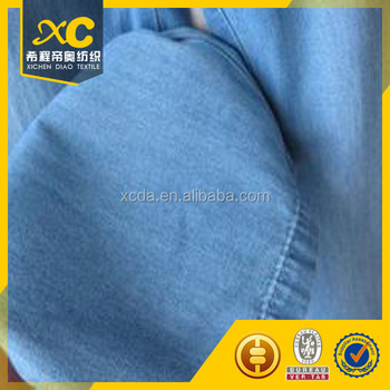 4.5oz cheap cotton softtextile denim jean fabric with sharp price