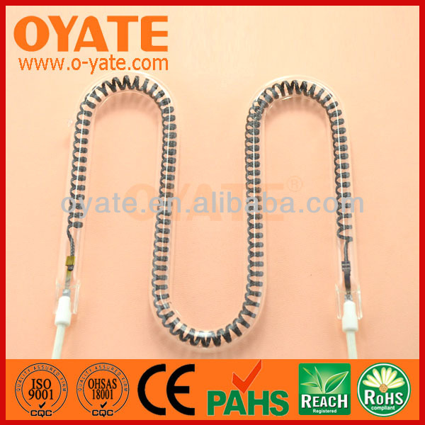 quartz infrared pizza oven heating element 1000w
