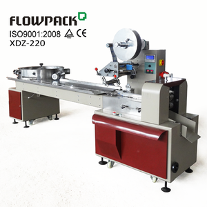 Rotary Feeder Pillow Bag Sweet Wrapper Full Automatic Chewing Gum Wrap Equipment Horizontal Candy Flow Wrapping Machine