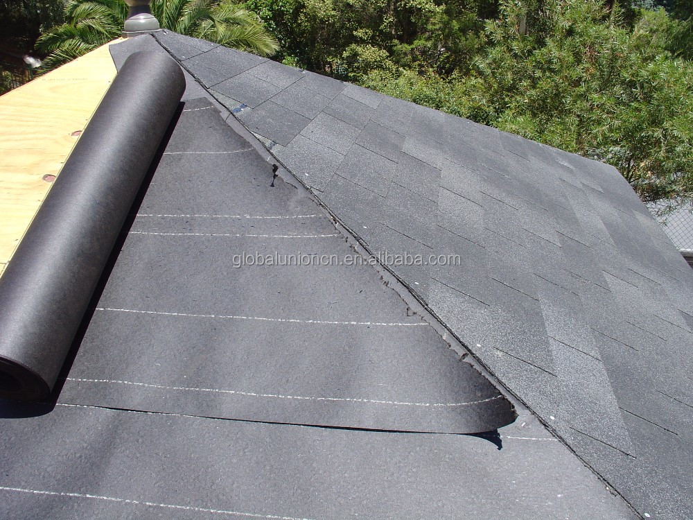 Produce High Quality Cheapest Asphalt Roofing Felt #30 And #15 Building  Paper Roofing Tar