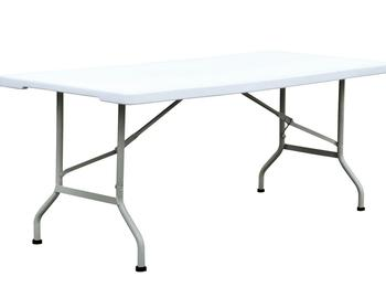 8FT long plastic folding wedding table