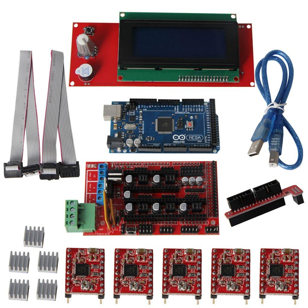 Keyestudio 2004 LCD Display Controller Board for RAMPS 1.4 Reprap 3D Printer SZ