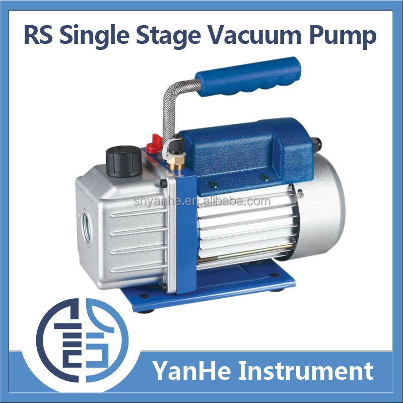 Rs Series Single Stage Rotary Vane Vacuum Pump Rs-1 Two Stage ...