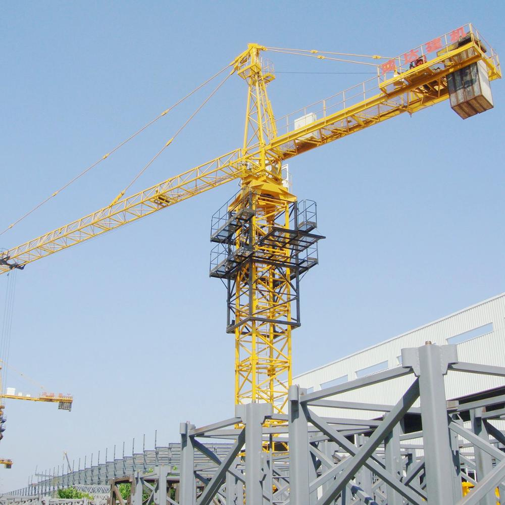 Chinese qtz series qtz 31.5 to 500 tower crane capacity load 3t to 5t