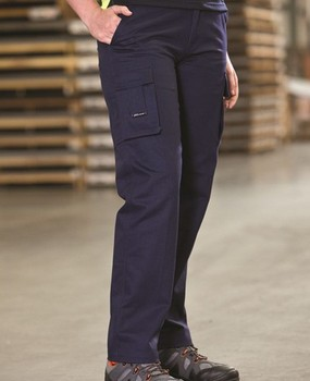 Navy Blue 310 Gsm Cotton Drill Men's Heavy-duty Work Pant Durable ...