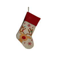 Good Material for Christmas Stocking Holders Personalized Embroidered Baby Christmas Stocking