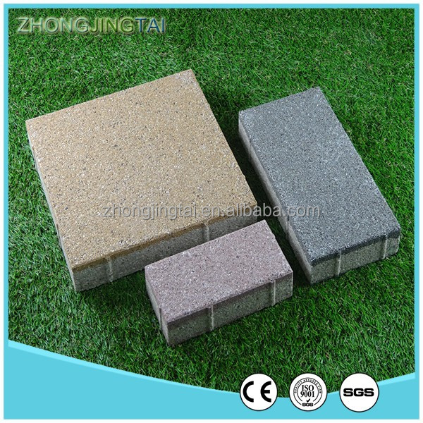 55mm Thickness Clay Paving Bricks, Water permeable brick,Garden Brick