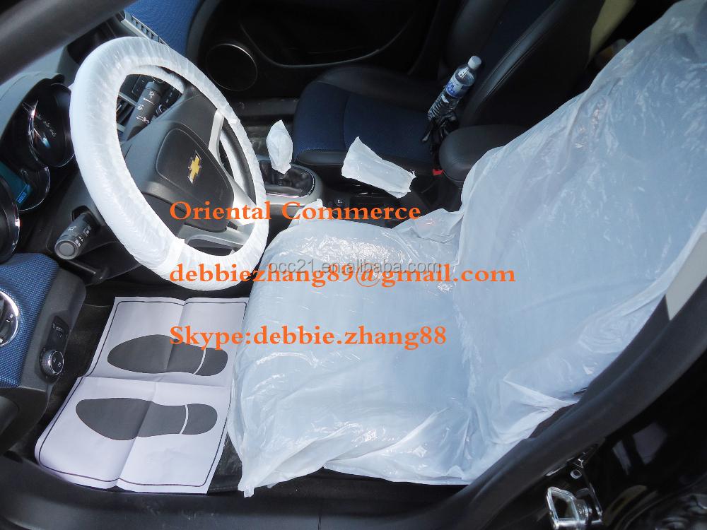 Automotive Plastic Disposable Car Seat Cover