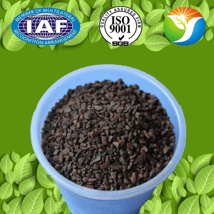 Water treatment media 1-3mm 25-45% manganese ore specification/ manganese greensand