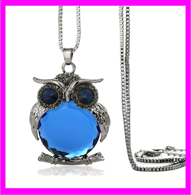 wholesale fashion china import trendy owl necklace jewelry