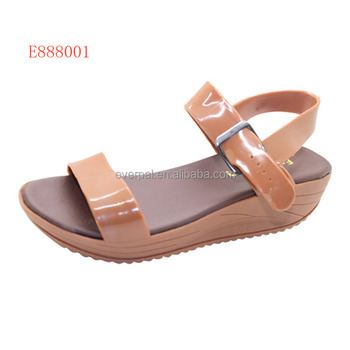 f00e6b4b8 Girls Wedge Heel Sandals Platform Beach Shoes - Buy Sandals ...