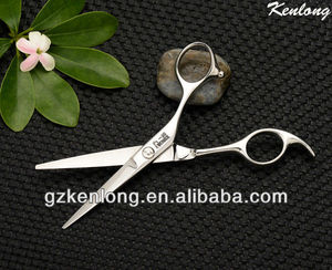 2013 Best quality matte surface fancy barber scissors