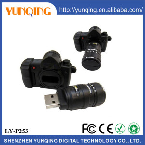 Pvc Camera Shaped Usb New Arrival Usb Pen Camera Drivers Bulk Camera Pen Drive