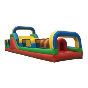Adrenaline Rush Extreme Adults Inflatable Playground Obstacle Course