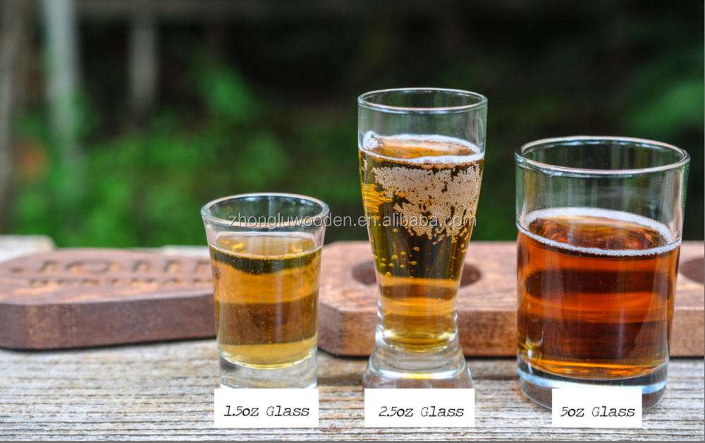 New Fsc Wood Beer Tasting Tray Beer Flight Tray Beer Lover Gift Beer Tasting Holderwooden Beer Holder Buy Beer Tasting Tray Beer Flight Traybeer