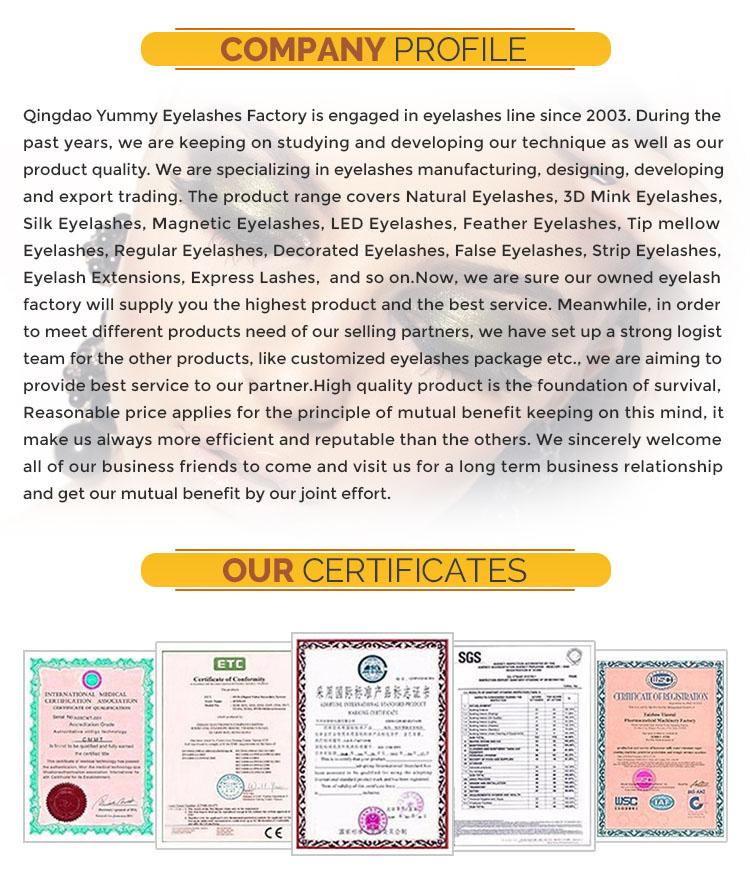 Top Quality Guaranteed Siberian Mink Lashes False Eyelash Yarn