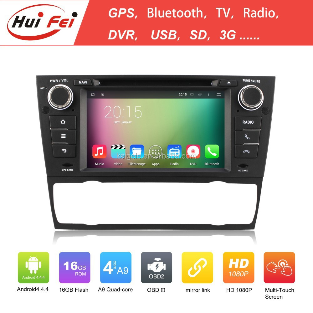 Hui Fei Android 4.4.4 OS For BMW E90 USB Car Stereo Car Touch Screen Tablet Stereo For E90