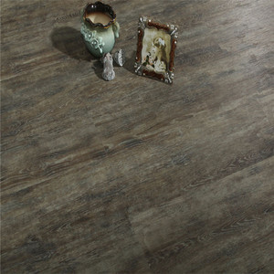 Commercial pvc waterproof 5.5mm thickness Wood Plastic Composite eco Click WPC vinyl flooring