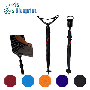 High quality special advertising logo print seat stick umbrella