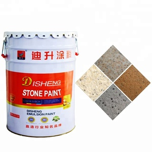 Best waterbased acrylic paint heat resistant natural marble stone effect paint coating spray exterior wall in building coating