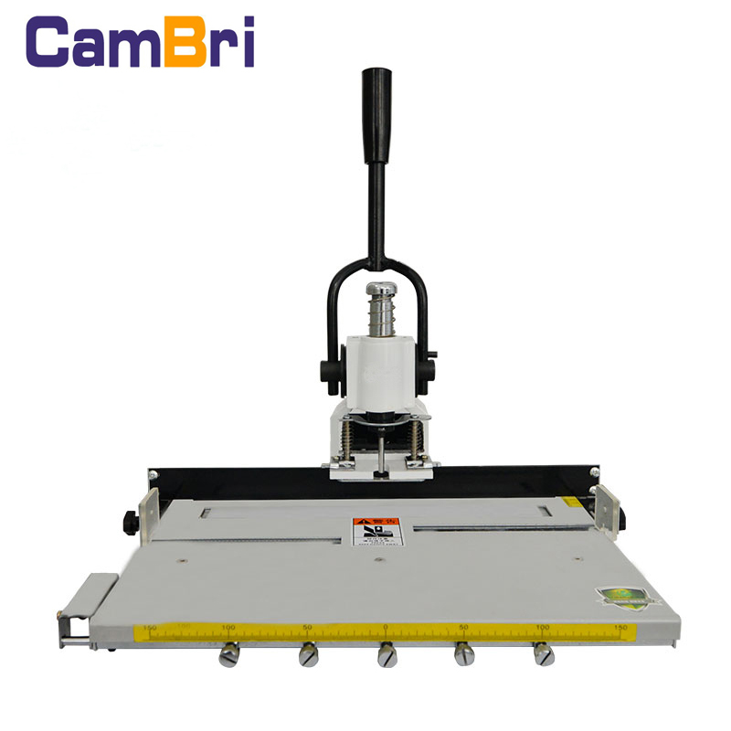 factory price manual paper puncher with movable table P30