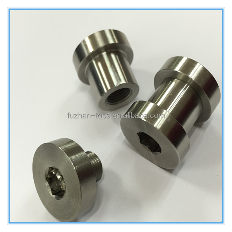 Custom cnc turned high quality stainless steel electronical components