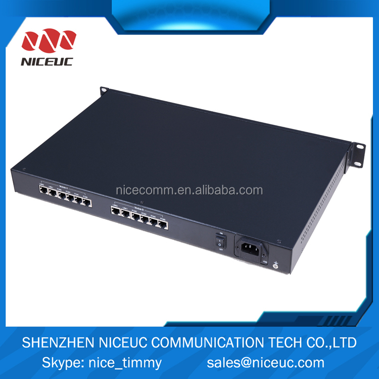 voip media gateway with 8 ports up to 240 channels for call centers,ei to ethernet converter,voip isdn gateway