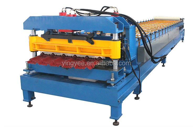 On promotion Glazed Tile Roll Forming Machine/roll forming machine for glazed tile/short delivery time