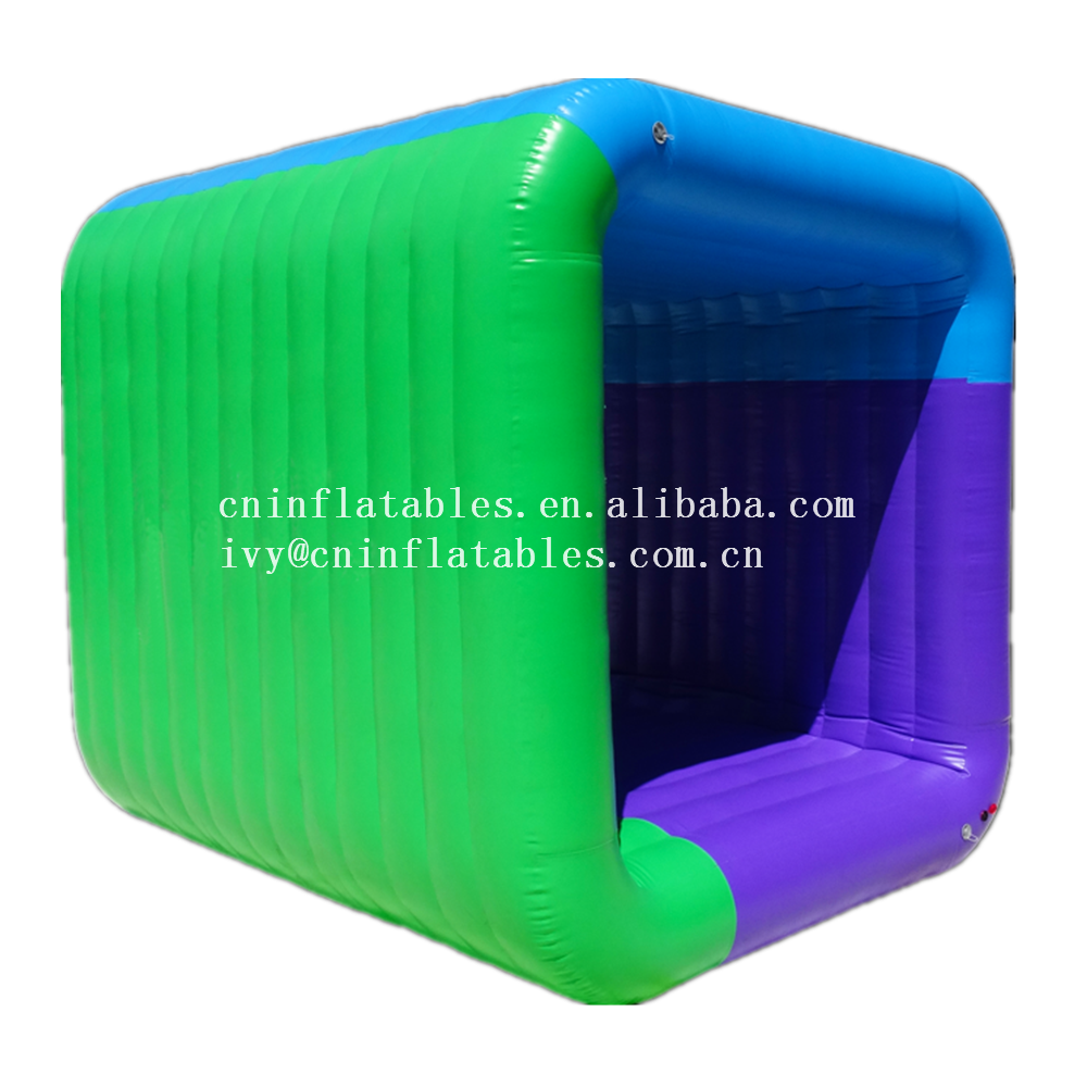 Most Popular Outdoor Inflatable Flip It Game for Kids and Adults/ Inflatable Team Building Game Cube Flip It for Sale