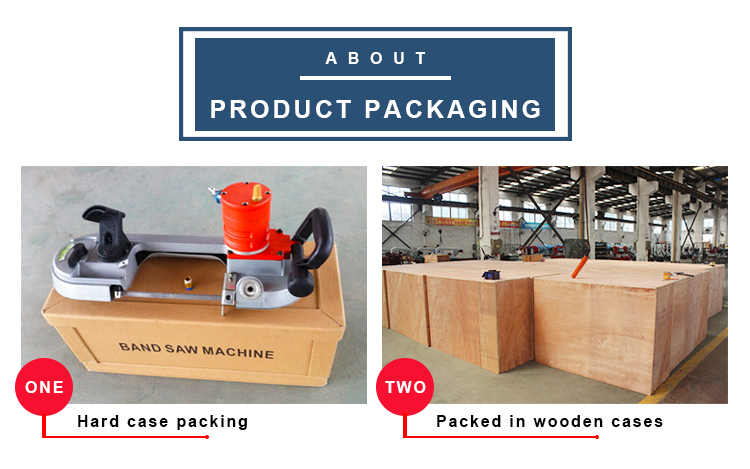 Máquina de sierra de corte de Metal/madera/acero de velocidad Variable de mano pequeña banda de sierra portátil neumática