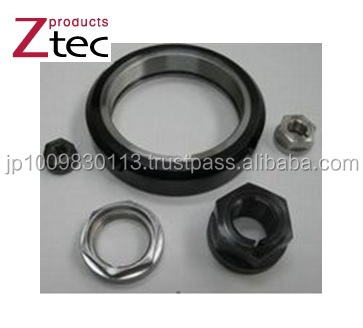 High quality and Reliable round nut Z-tec Locking hexagon & round nut bolt with High-precision made in Japan
