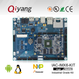 I.MX6 ARM A9 quad core development motherboard with 1G RAM and 4G Flash