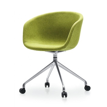 Salon Furniture Cheap Fabric Dressing Room Restaurant Chair Glides For Metal  Chairs Metal Lounge Modern Green