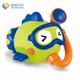 Colorful bubble baby fishing bath toys organizer