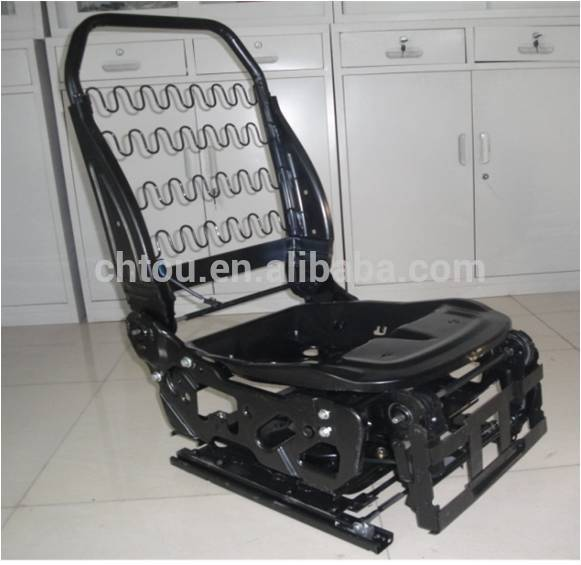 Adjustable Seat Frame Steel Power Auto Seat Frame For Mpv