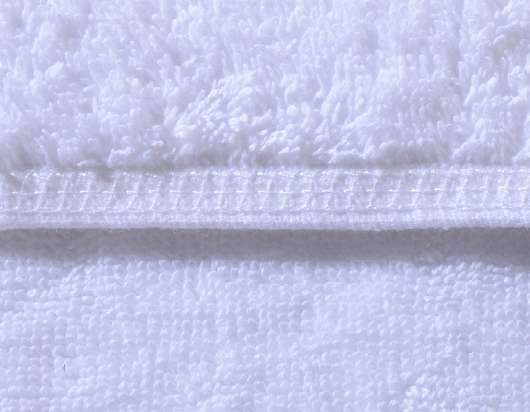 Luxury 100% Cotton White Colour Embroidery Hotel Bath Towel