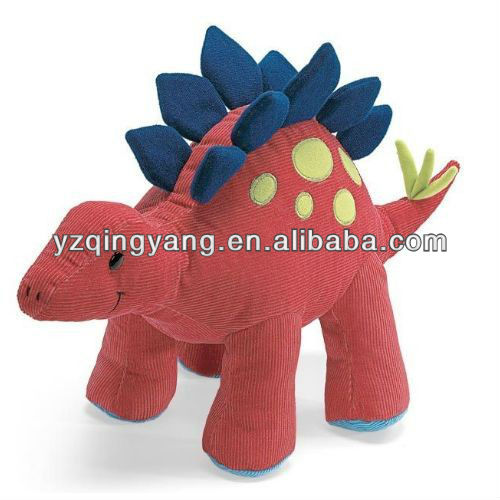 "25"" red smiling cute stuffed plush dinosaur soft toy for different ages"