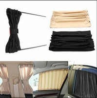 High quality Car Window Curtain / Auto Rear UV Sunshade / rear window sunshades for cars