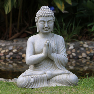 Wholesale resin garden decoration large Buddha statues