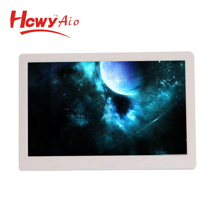 Mini IPS 7 inch 10 inch 13.3 inch 15.6 inch Digital Photo Frame RoHs With Slideshow Clock Calender Video Advertising Player