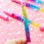 2019 china most popular novelty custom logo Plastic Liquid glitter floating pen