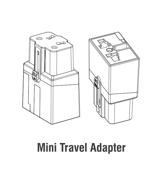quantity discounts mini size international travel adapter