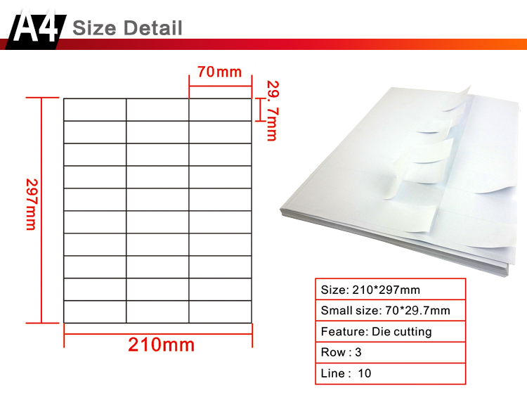 a4 sheet 30 labels small size 70 0mm 29 7mm a4 labels printable