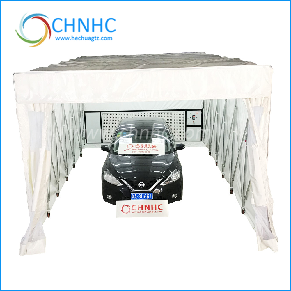 High quality pop up mobile cheap car portable spray paint booth price