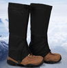 2015 new design Professional waterproof black ski leg gaiters for winter sports