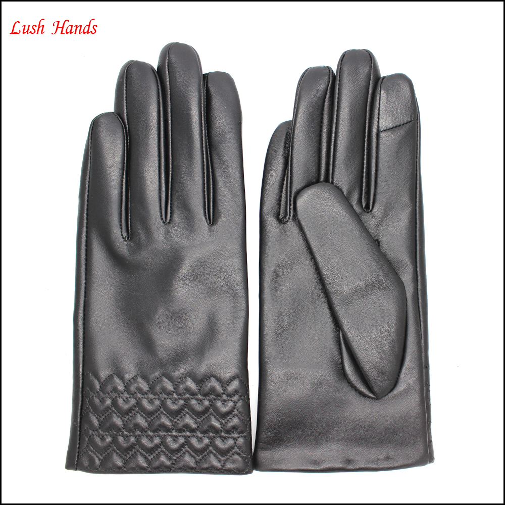 Ladies leather gloves navy - Ladies Navy Leather Gloves Ladies Navy Leather Gloves Suppliers And Manufacturers At Alibaba Com