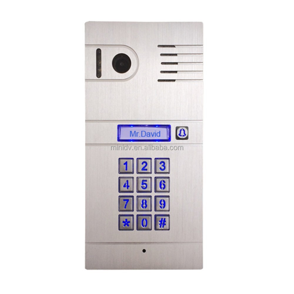 On sale new arrival wifi ip wireless video door phone for Door intercom